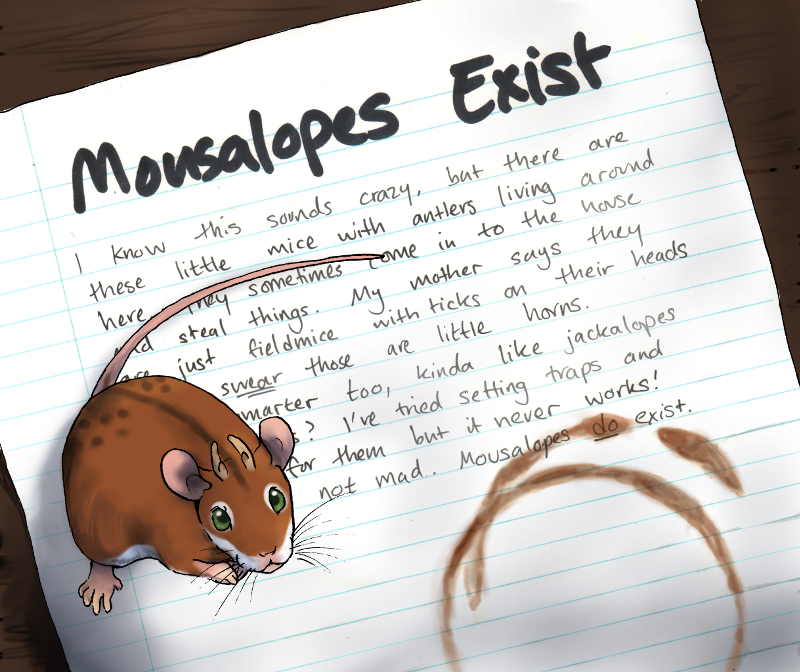 Mousalopes exist!